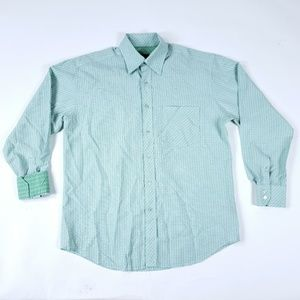 Bugatchi Uomo Medium Flip Cuff Button Front Shirt